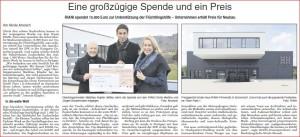 2015_12_03_ZvW_Schorndorf Aktuell_Engagement RIANI