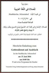 2016_06_27 Gottesdienst arabisch